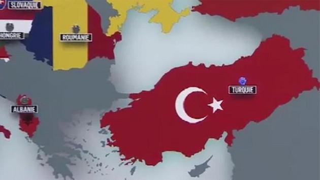 TRT'den skandal harita! Trakya hangi ülkede?