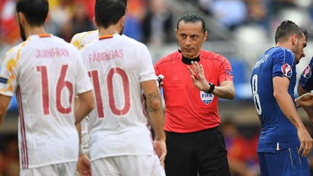 Cüneyt Çakır EURO 2016'ya veda etti