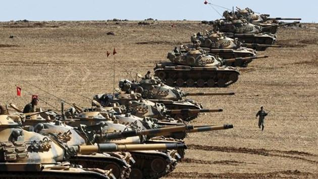 Son dakika haberi: Türk ordusu Cerablus'un güneyinde YPG'li grubu vurdu