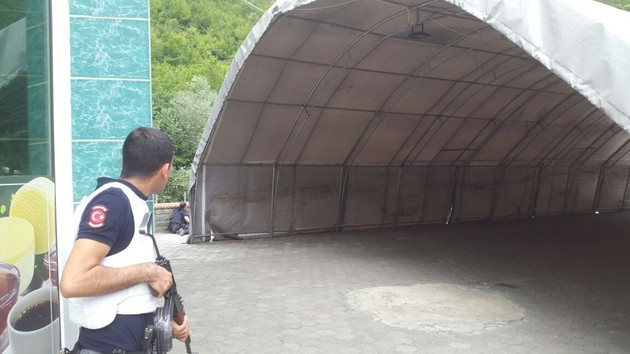 Trabzon'da çatışma çıktı: 1 polis yaralı