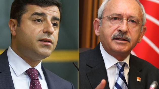 Kılıçdaroğlu: Demirtaş beni aradı ve...