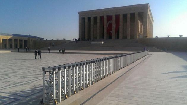 Anıtkabir'de çok sıkı güvenlik önlemleri!
