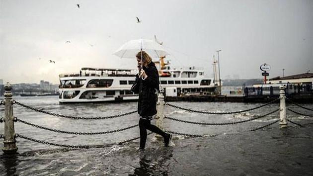 Son dakika haberleri: Meteoroloji İstanbul'da kuvvetli yağış için saat verdi!