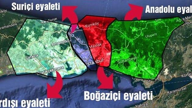 FETÖ İstanbul'u 4 eyalete ayırmış..