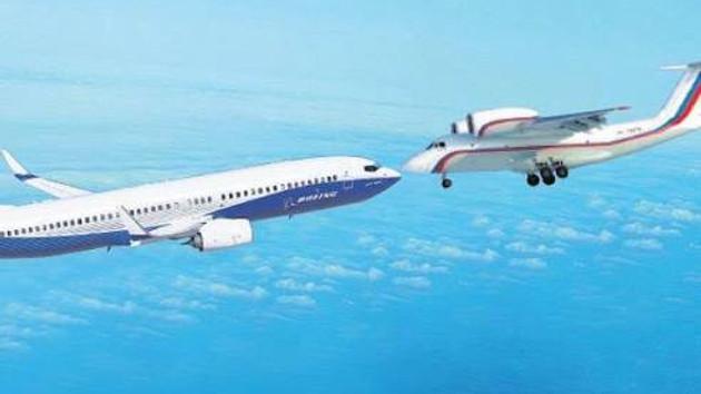 Son Dakika: İki uçak havada çarpıştı!
