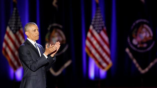 ABD Başkanı Barack Obama'dan veda konuşması!