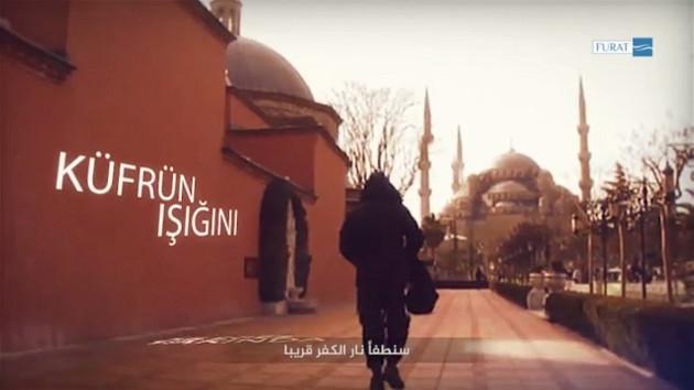 Yeni IŞİD videosu: Sultanahmet, Haydarpaşa, tarihi yarımadaya saldırı tehditleri