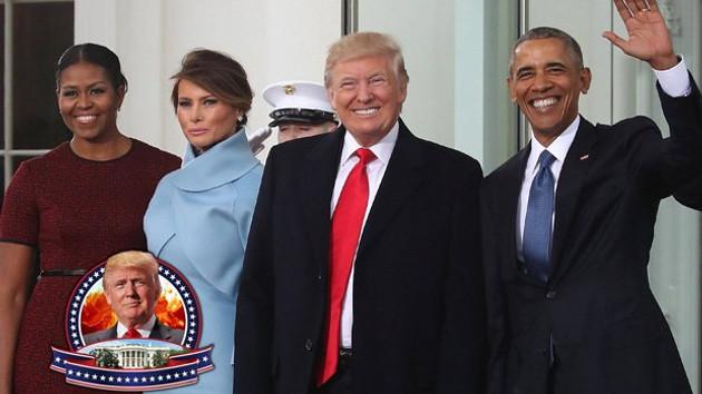ABD'de Trump dönemi resmen başlıyor.. Devir teslim töreni CANLI