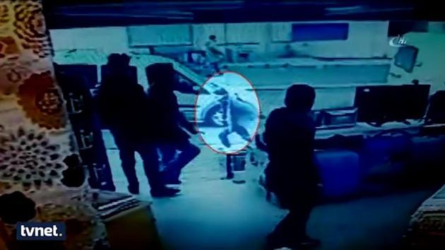 Esenyurt saldırganı kaçarken kameralara yakalandı!