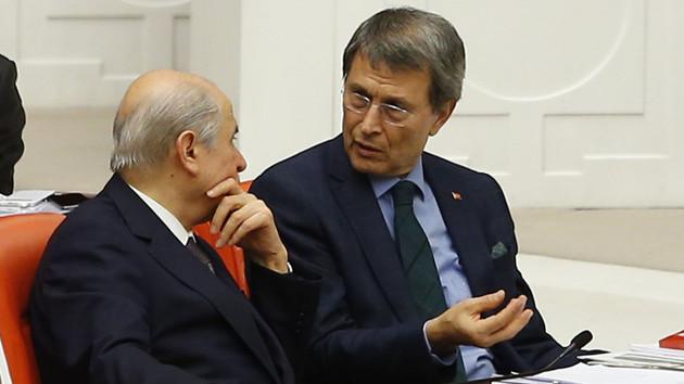 Mhp'li Yusuf Halaçoğlu: Kendilerini hayvan yerine koyan..