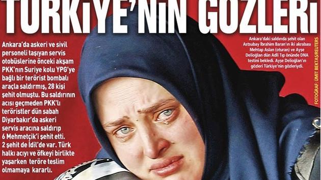 2016'ya damgasını vuran manşet: Türkiye'nin gözleri