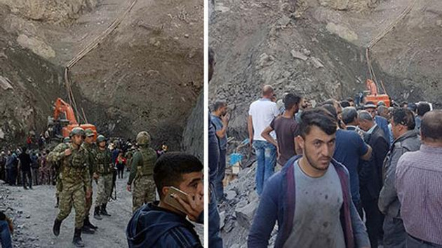 Şırnak'ta maden ocağında göçük: 6 ölü