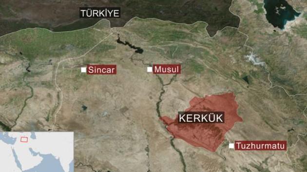 Kerkük'te son durum: Peşmerge güçleri 2014 sınırlarına çekildi