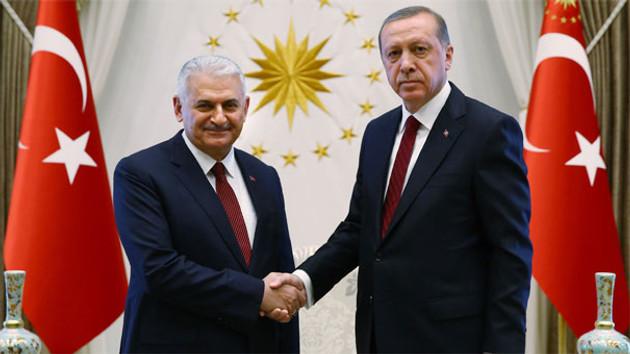 Erdoğan ile Yıldırım'dan Beştepe'de sürpriz görüşme