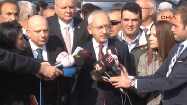 Kılıçdaroğlu, Deniz Baykal'ın son durumuyla ilgili açıklama yaptı