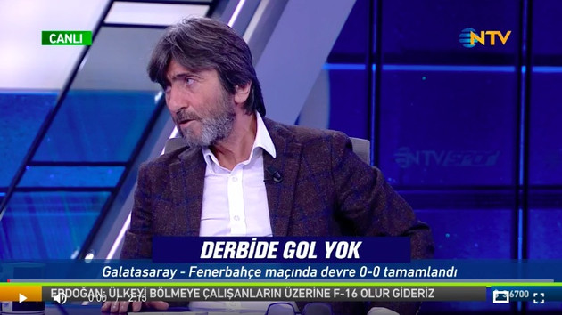 Rıdvan Dilmen'den olay değerlendirme : Direkt kırmızı kart ve net gol!