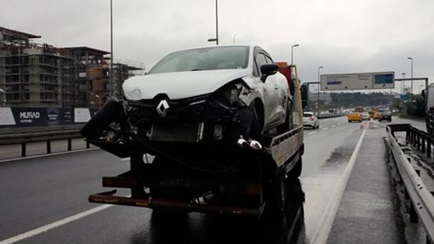 Son dakika! E-5'teki kaza İstanbul trafiğini kilitledi