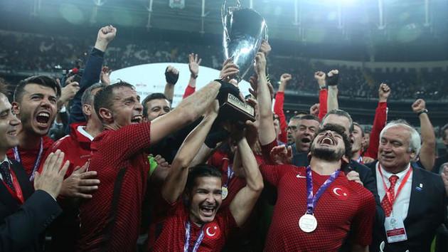 Türkiye Ampute Milli Takımı, Avrupa Şampiyonu oldu
