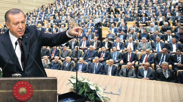 Erdoğan: Baş vereceğiz ama baş eğmeyeceğiz