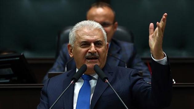 Başbakan Binali Yıldırım'dan Rakka'daki görüntülere çok sert tepki