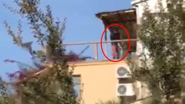 Son dakika: Tanem Sivar'ın köpeklerini öldürmekle suçlanan komşunun şok görüntüsü