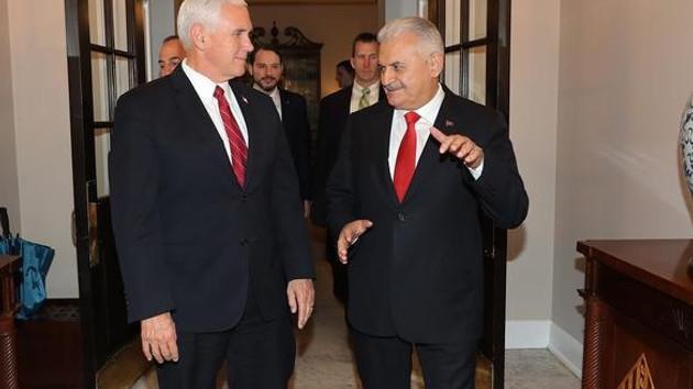 Yıldırım'la kritik görüşmenin ardından Beyaz Saray'dan açıklama
