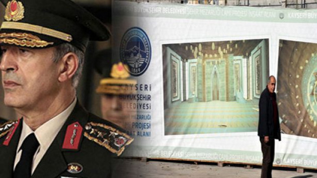 Genelkurmay Başkanı Orgeneral Hulusi Akar memleketine cami yaptırdı
