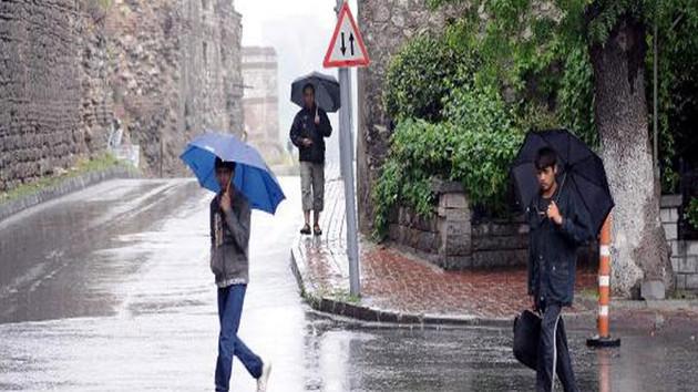 Son dakika: İstanbul için kuvvetli sağanak yağış uyarısı
