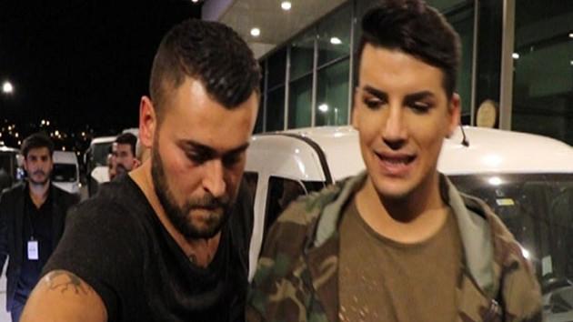 Kerimcan Durmaz'ın partisi olaylı bitti, zor kaçtı