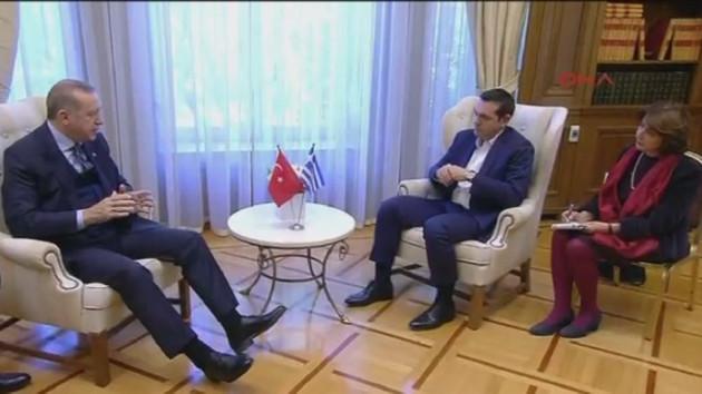 Erdoğan'dan Çipras'a: Keşke Rumlar göç etmeseydi