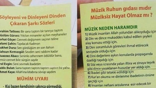 İTÜ'de dağıtılan müzik haramdır bildirisine öğrencilerden türkülü tepki