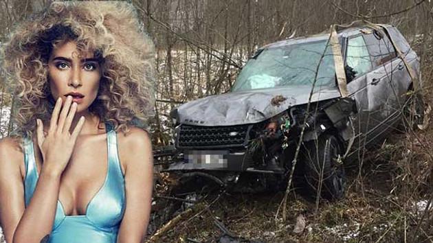 Son dakika haberleri: Şarkıcı Sıla Gençoğlu kaza geçirdi, ölümden döndü... ilk görüntüler