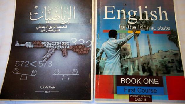 IŞİD'in ders kitapları! A için Elma B için Bomba