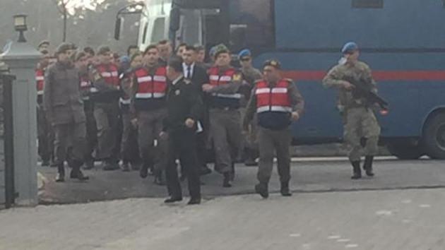Erdoğan'a suikast timi mahkemeye böyle getirildi