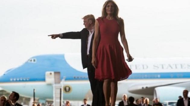 Dedikodular aldı başını gitti, First Lady Melania Trump bunu yaptı!