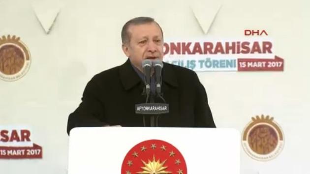 Erdoğan: Muhalefet düşmanın değirmenine su taşıyor