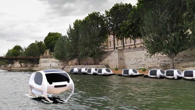 Uçan deniz taksiler geliyor!