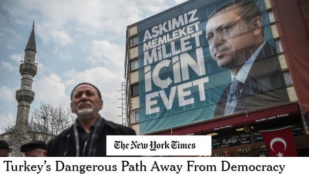 New York Times'tan Erdoğan yorumu: Düşman yaratıp korku yaymayı iyi biliyor