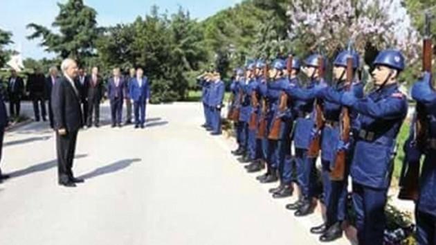 Genelkurmay: Kılıçdaroğlu'nun askeri törenle karşılanması incelenmektedir