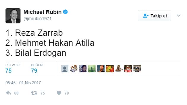 Rubin'den şok tweet: ABD'nin yeni hedefi Bilal Erdoğan mı olacak?