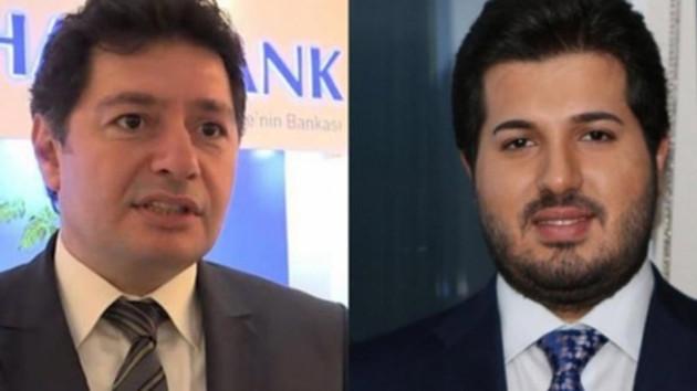 Reza Zarrab ve Mehmet Hakan Atilla hakim karşısında