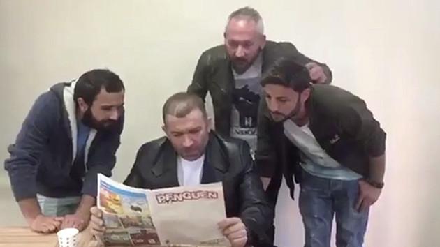 Şevket Çoruh'tan Penguen'e destek videosu