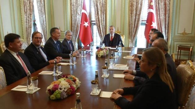 Erdoğan'ın görüştüğü Atlantik Konseyi Kimlerden oluşuyor?