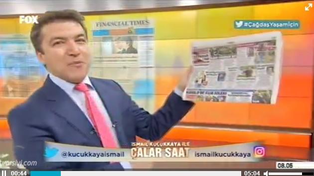 Son dakika haberleri: İsmail Küçükkaya FOX'ta açıkladı: Mesut Yar yeme içme programı yapacakmış..