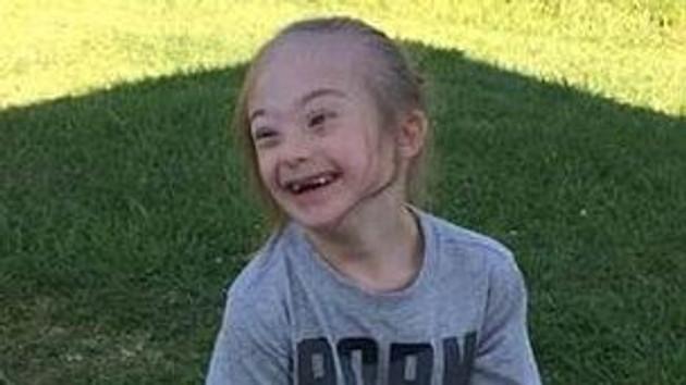 Down sendromlu çocuğun çektiği fotoğraf şoke etti