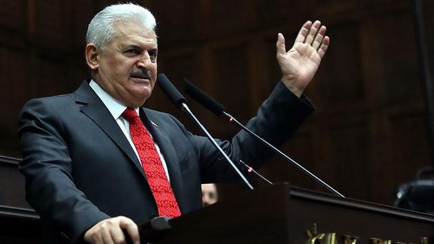 Başbakan Yıldırım AK Parti Grup Başkanı seçildi