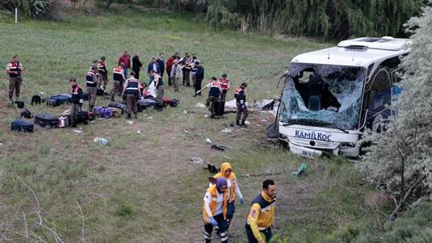 Kastamonu'da yolcu otobüsü devrildi: 8 ölü, 32 yaralı