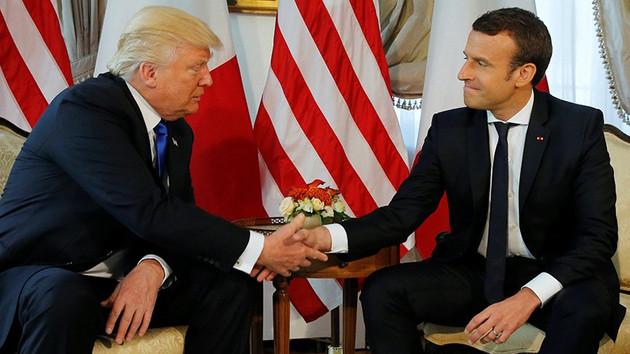 Macron'dan flaş yorum: Trump aynı Erdoğan gibi