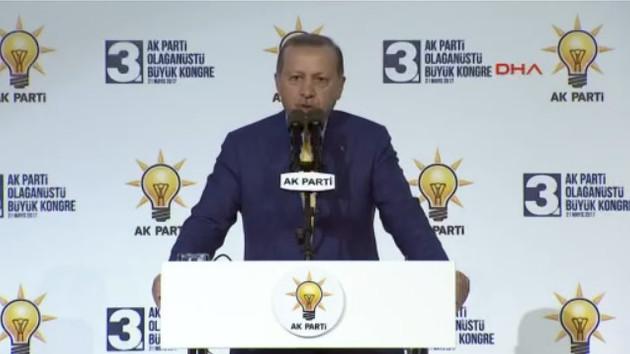 Erdoğan, AK Parti Genel Başkanı olduktan sonra ilk kez Genel Merkez'de