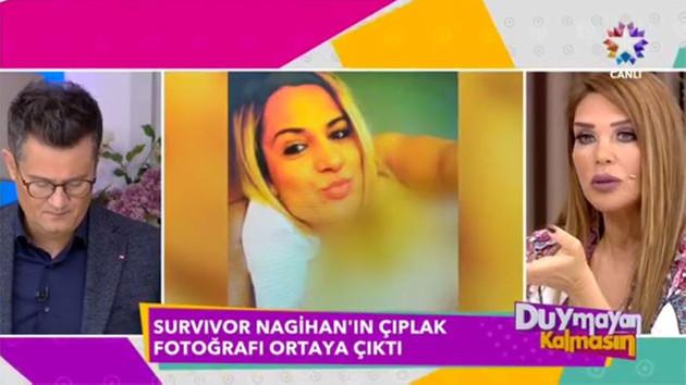 Nagihan Karadere'nin çıplak fotoğrafı ortalığı karıştırdı